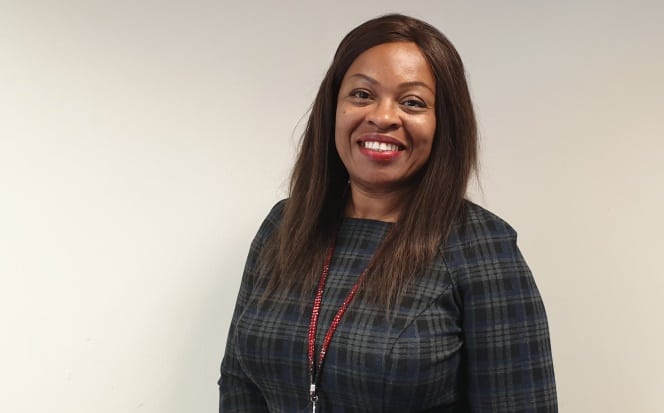 Grace Moronfolu, chair of the National Black Crown Prosecution Association