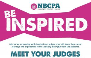 Meet your judges event - NBCPA