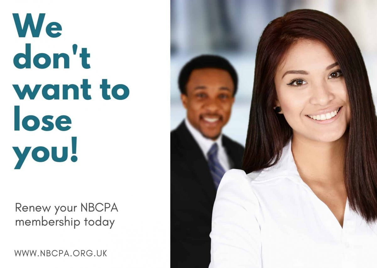 We don't want to lose you. Renew your NBCPA membership today.