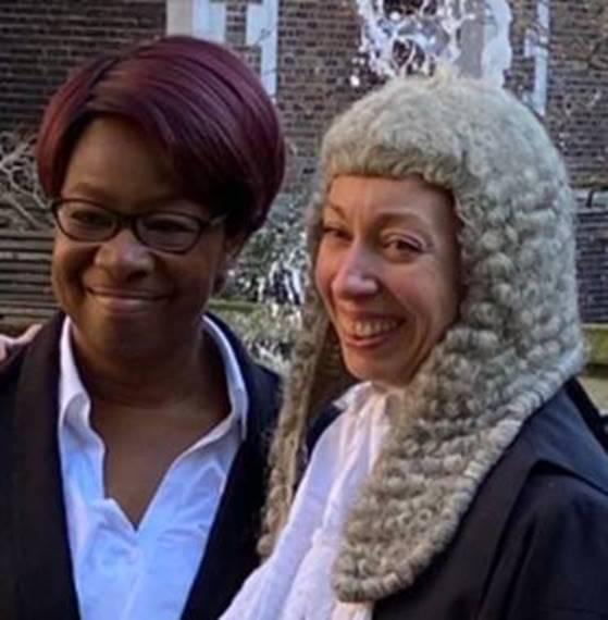 Ade Olojo, Senior Business Manager and Heidi Stonecliffe QC Principal Crown Advocate