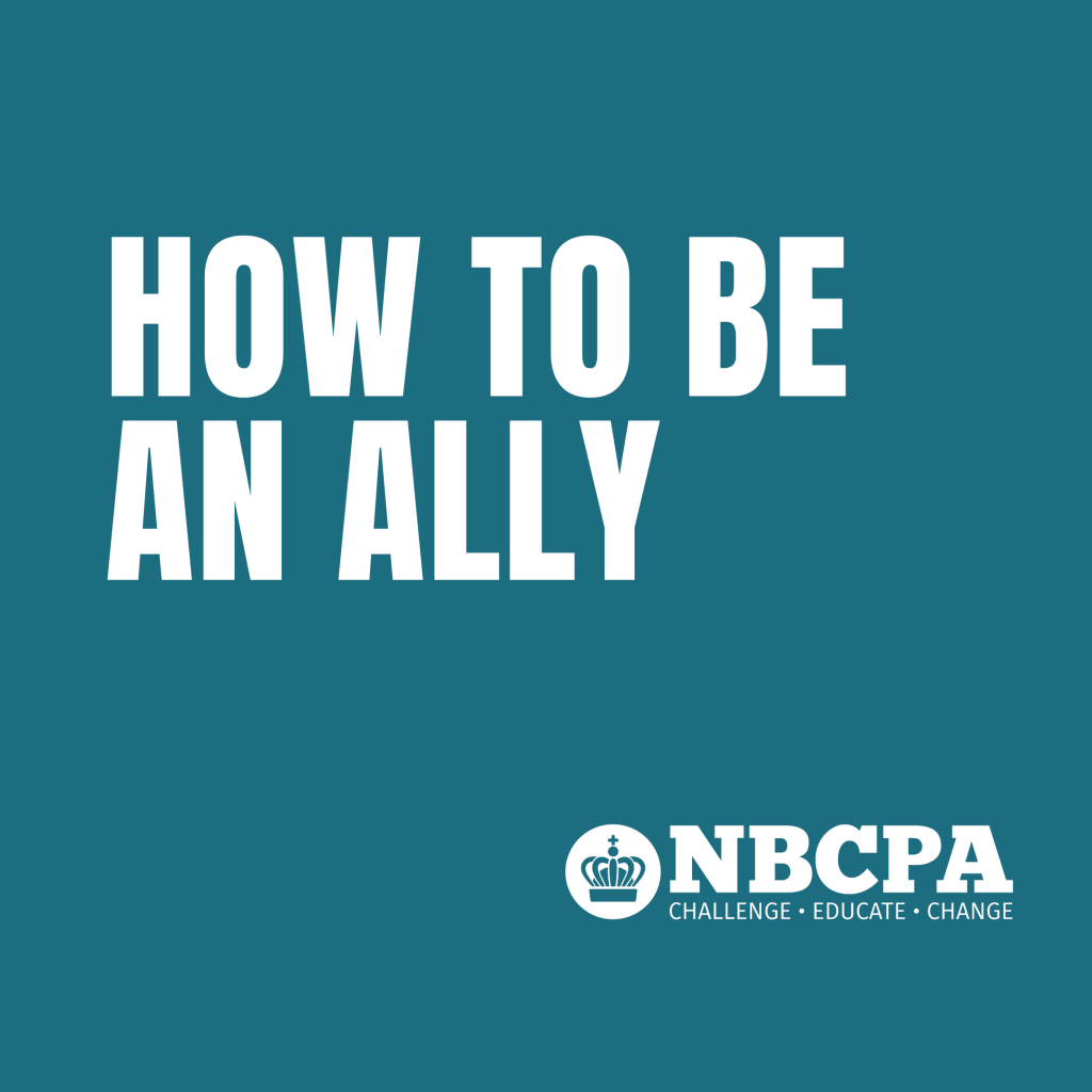 how to be an ally event