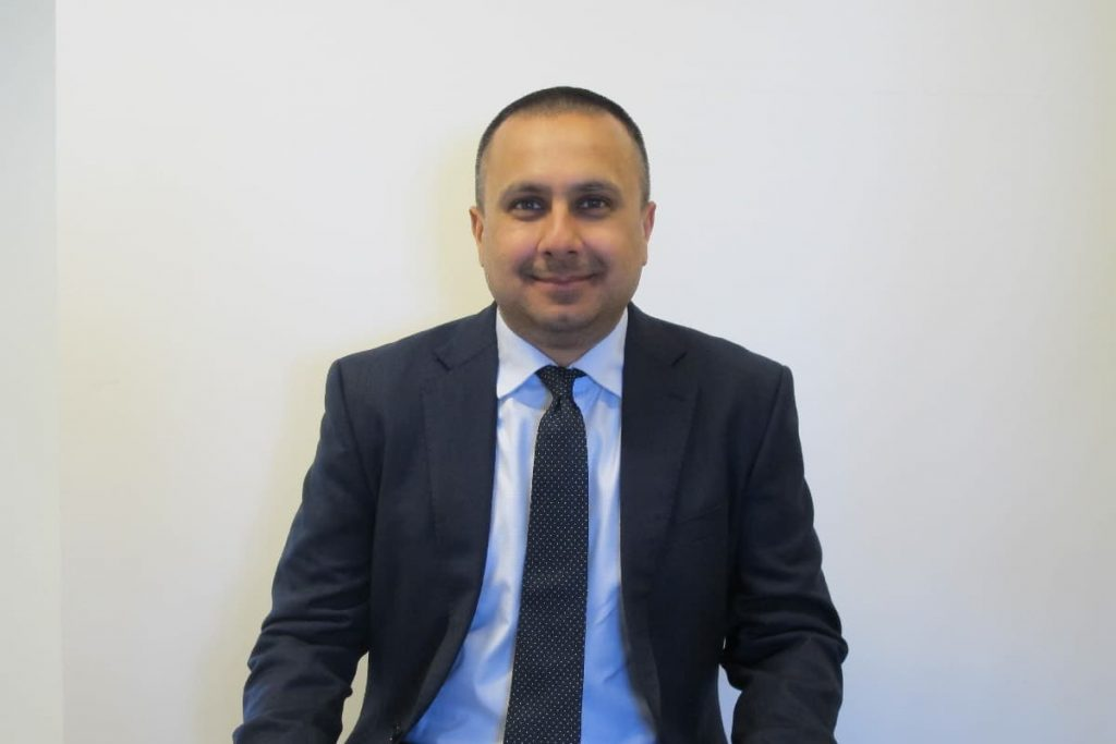 Hiten Chohan, Directorate Business Manager, HQ Strategy and Policy